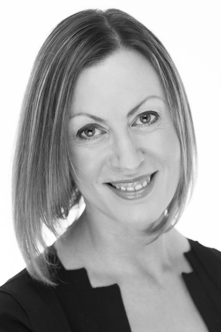 Black and white business headshot photography by graynoise
