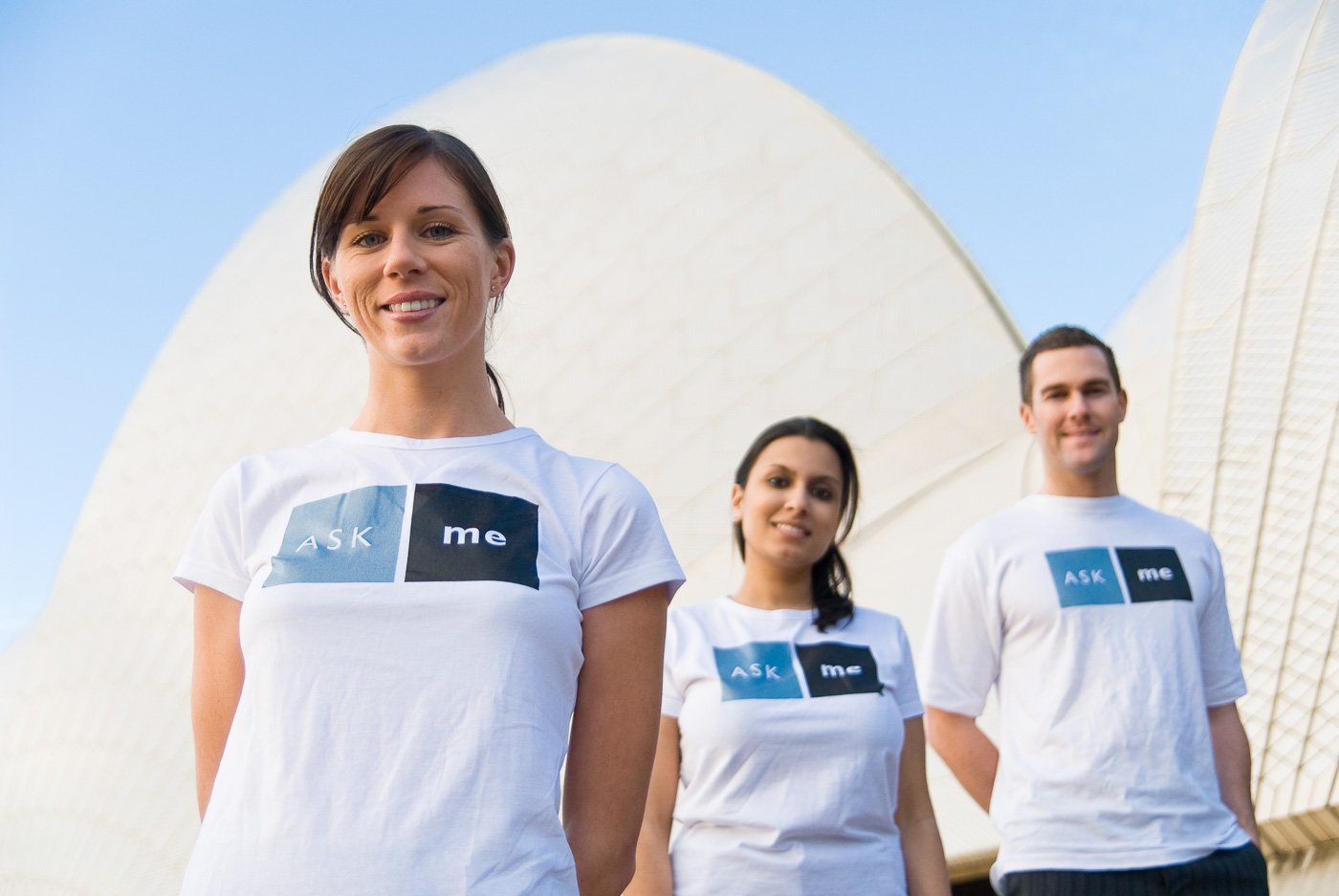 Location Group Portrait in front of Sydney Opera House