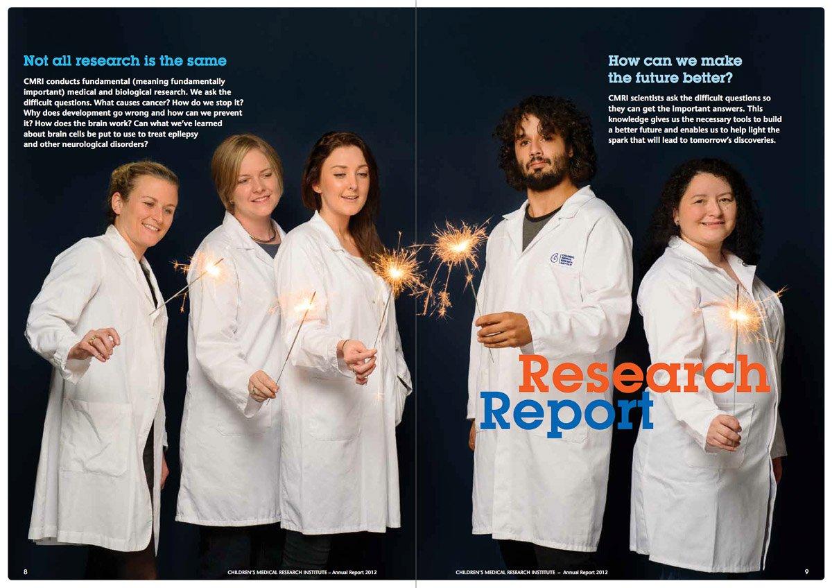 CMRI Annual Report 2012