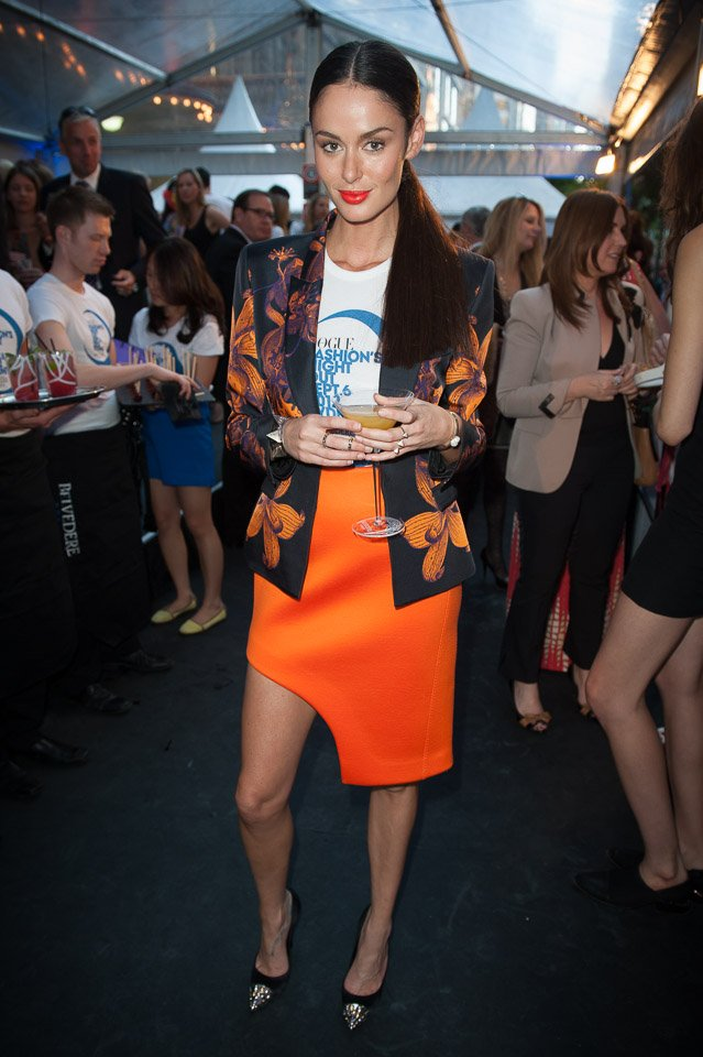 Nicole Trunfio, Vogue Fashion's Night Out