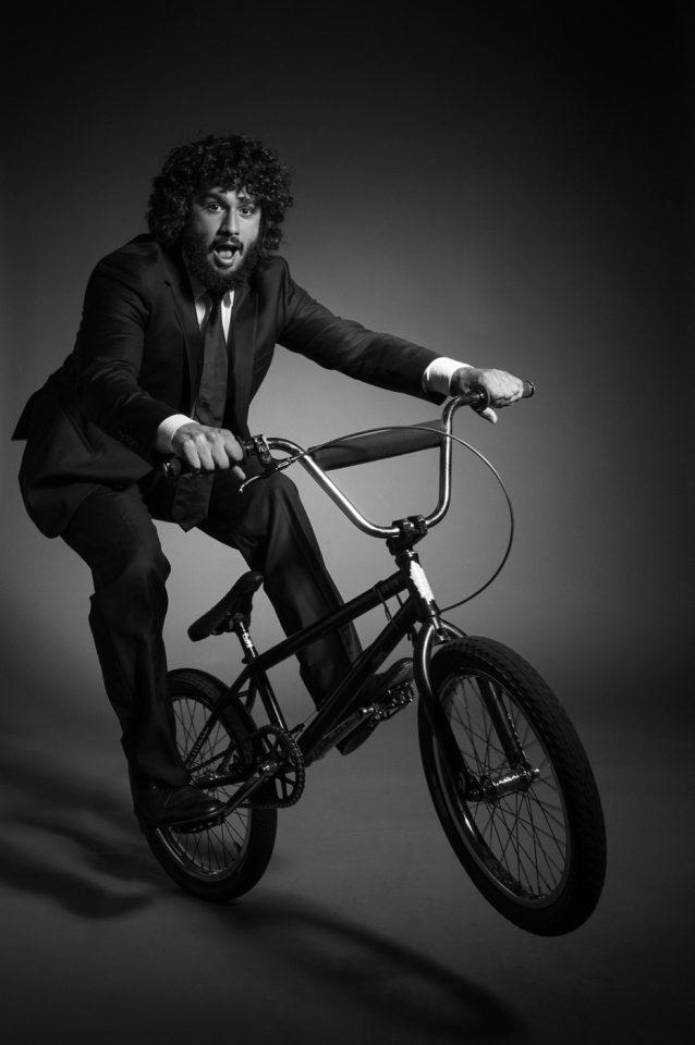 Rob on BMX