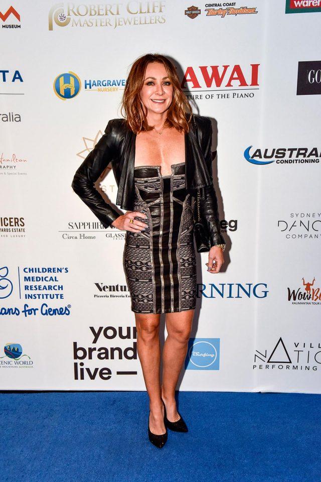 Michelle Bridges Jeans for Genes Denim Dinner