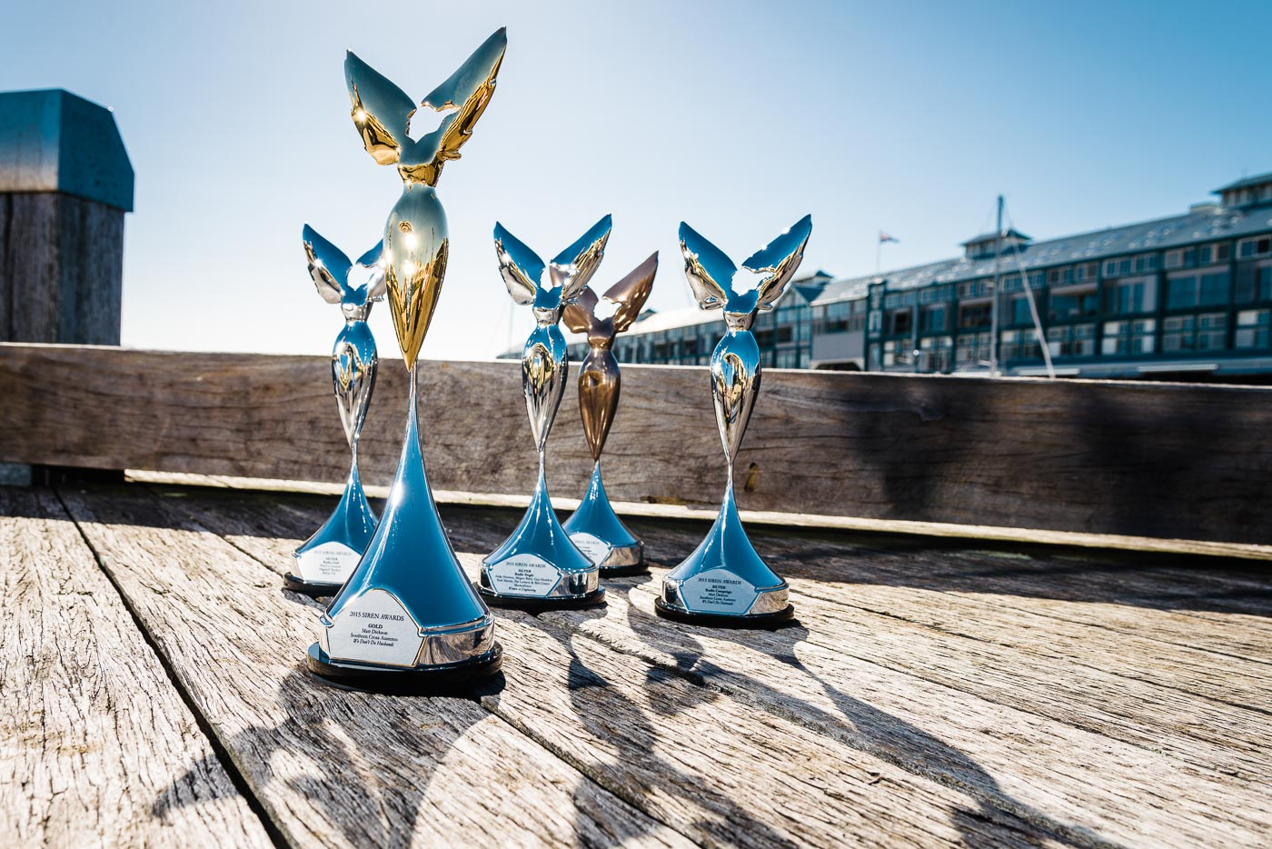 Commercial Radio Siren Awards photography