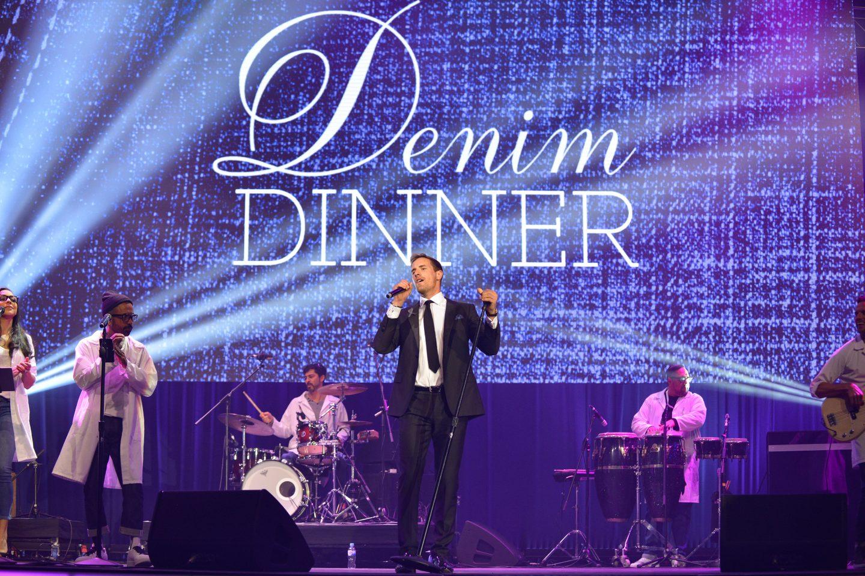 Jeans for Genes Denim Dinner gala photography