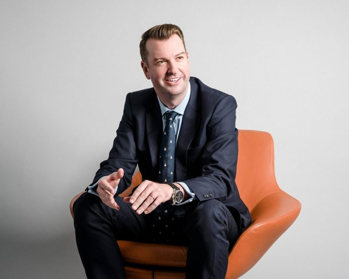 Business Testimonial Portrait
