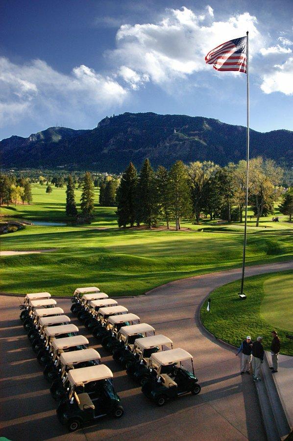 Golf Club, Pikes Peak, Colorado Springs