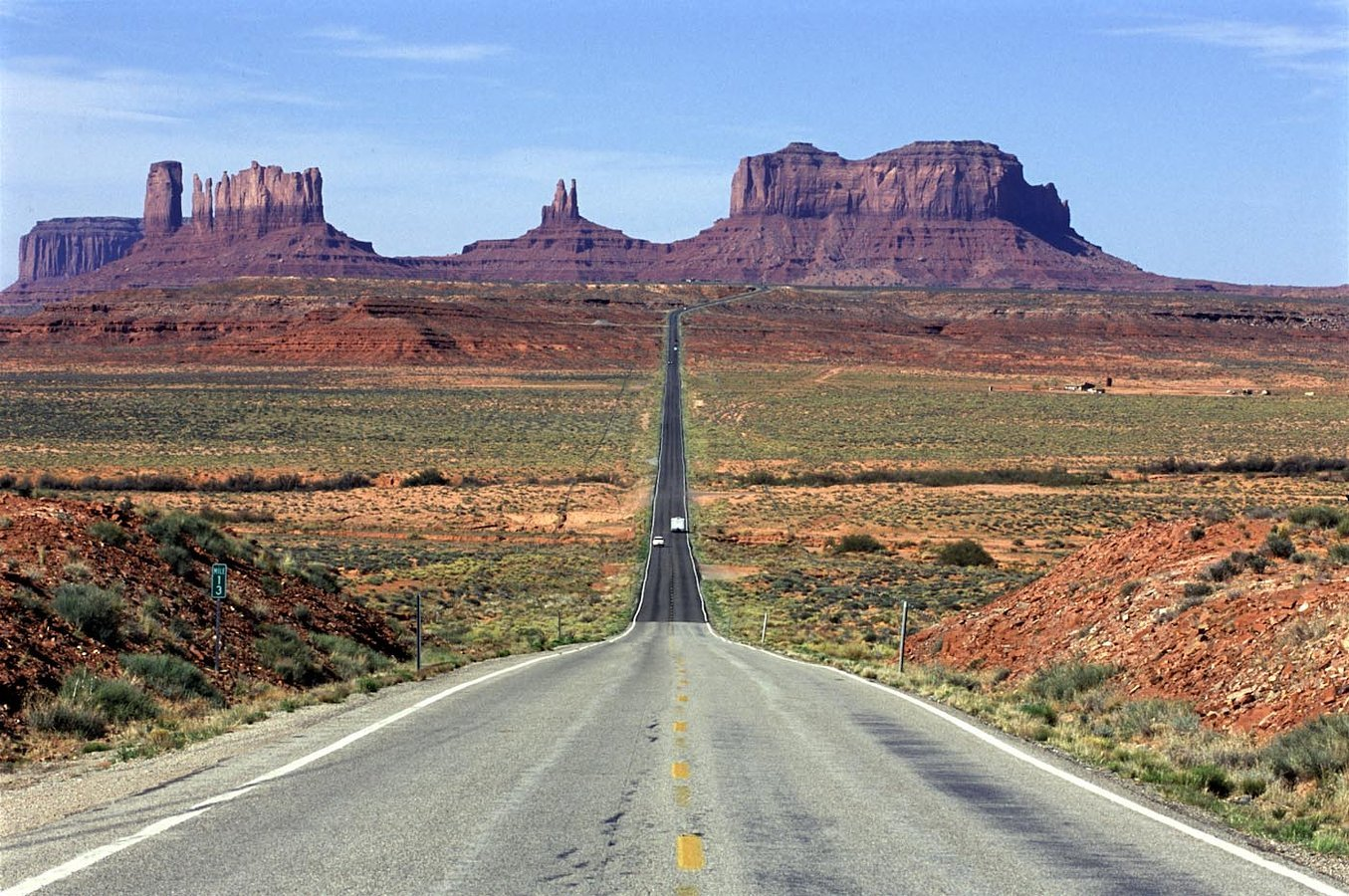 Road to Monument Valley, Utah