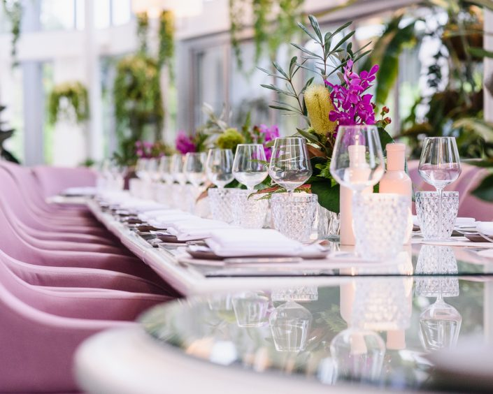 Event theming photography - The Botanic Vaucluse