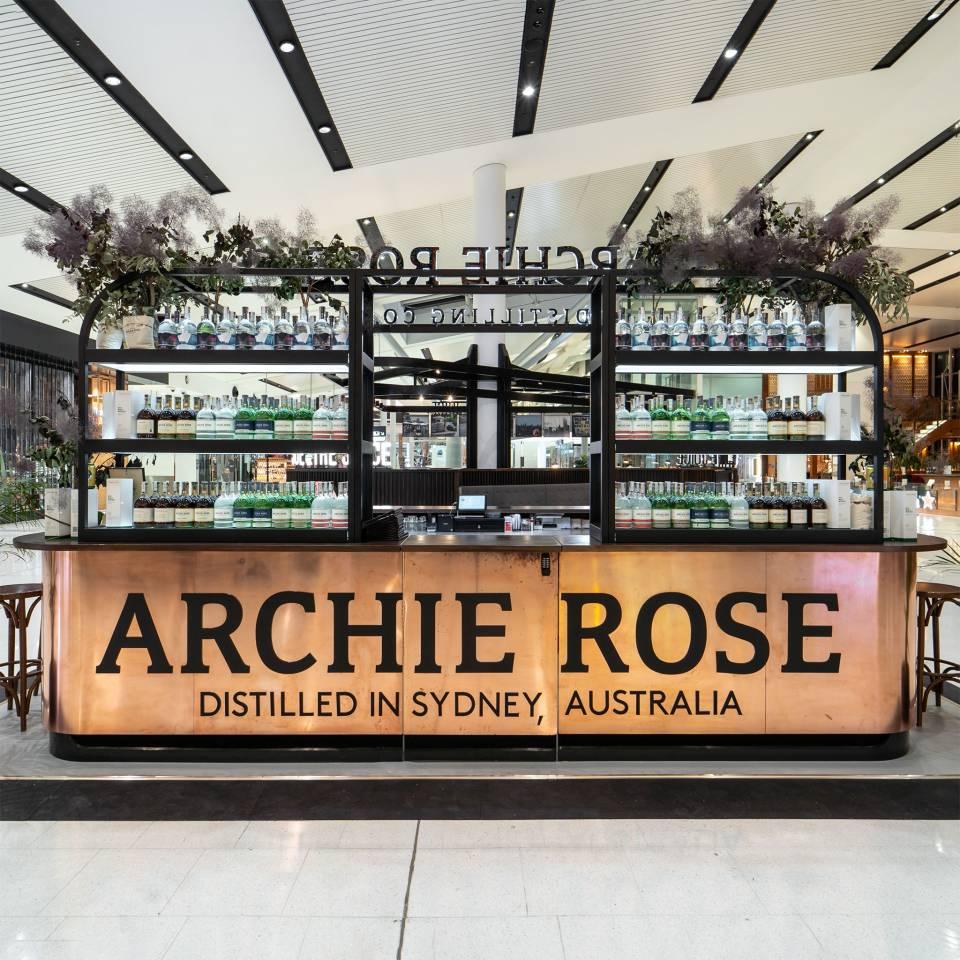 Colab Design Archie Rose - Sydney Airport Pop-up