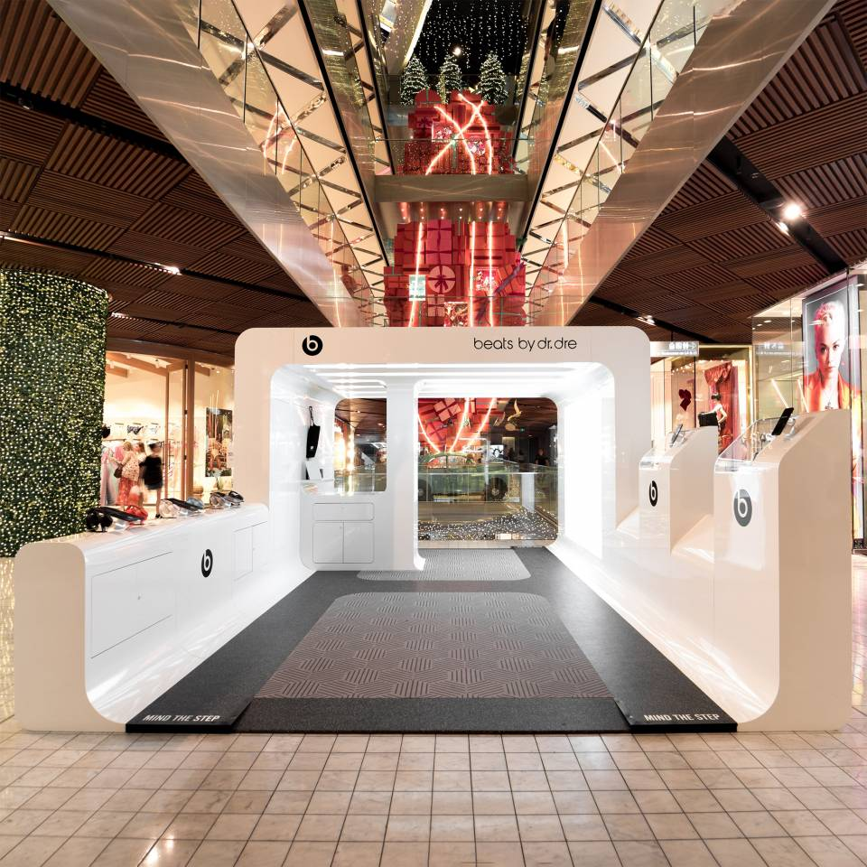 BEATS BY DR DRE Westfield Sydney Activation by Colab Design