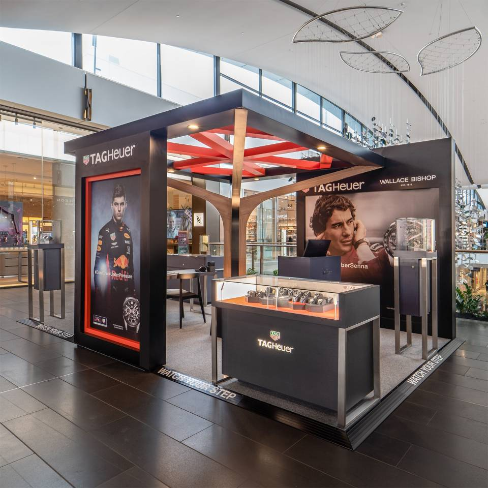 TAG HEUER Westfield Activation Pop-Up by Colab Design